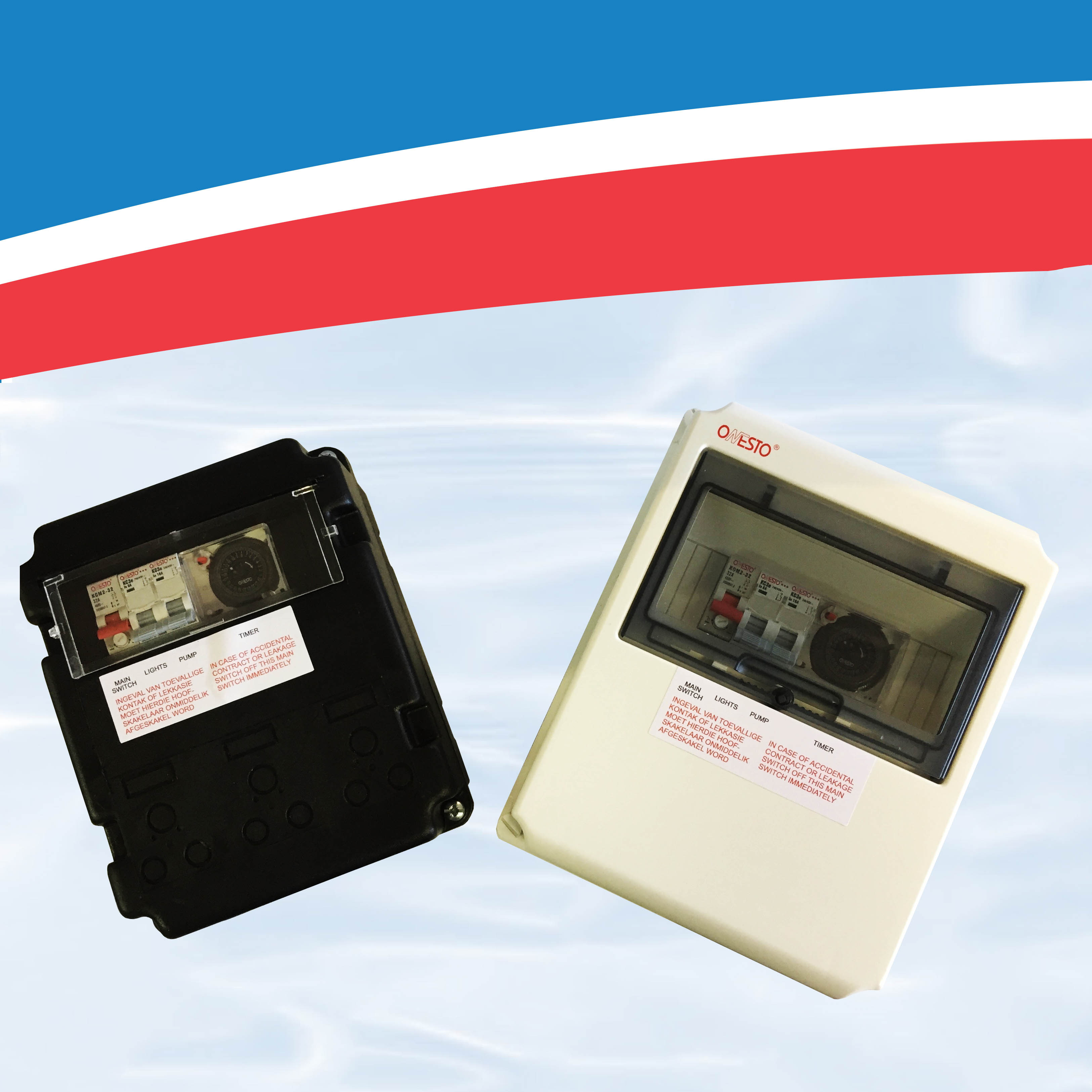 Electrical distribution boxes db s hyper pool group - Swimming pool electrical deck box ...