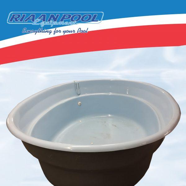 Polyphoenix Fibreglass Pool Shell - Blue