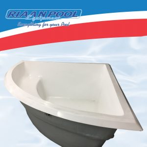 Polyphoenix Fibreglass Pool Shell - White